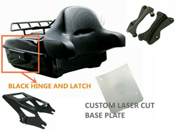 Chopped Tour Pak Pack Trunk For Harley Davidson Touring Street Road Glide 14 20 $339.99