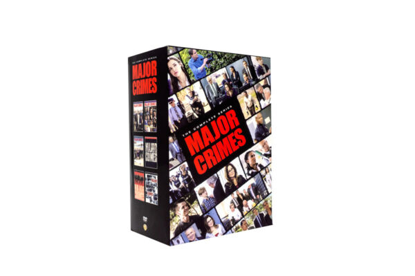 Major Crimes:The Complete Series 24 DVD  Box Set New Free Shipping