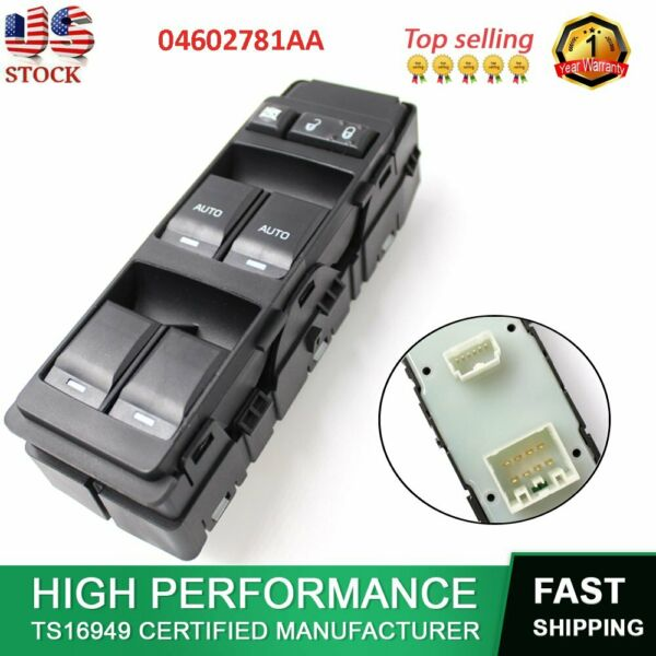 Master Power Window Control Switch Fit Charger 300 Durango Dodge Jeep Chrysler