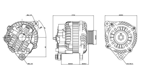Alternator-Coupe TYC 2-11052