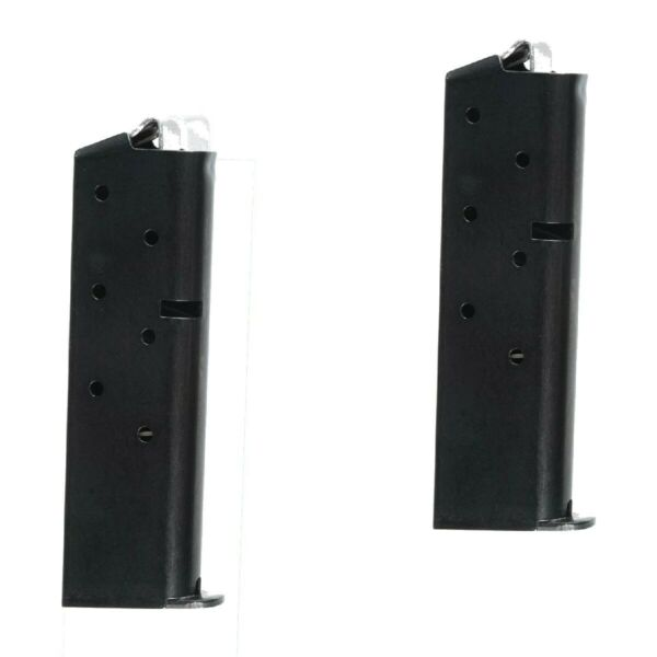 Fits Colt Government 380acp 7rd Blue Magazine 2-PACK