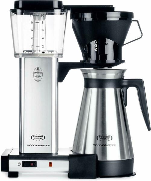 Technivorm 79112  Moccamaster 10-Cup KBT Coffee Brewer w/ 40 Oz. Thermal Carafe