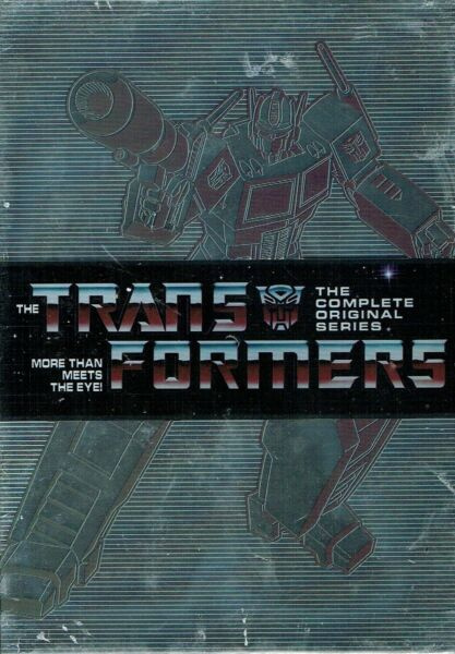 TRANSFORMERS THE COMPLETE ORIGINAL SERIES  15 DVD  Box Set New Free Shipping