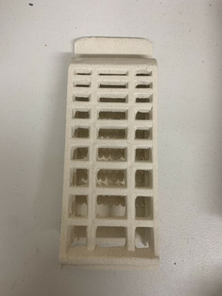 Vtg Ceramic Gas Grate Brick Space Unbranded  Heater Inserts ACF r605 Pick Qty!