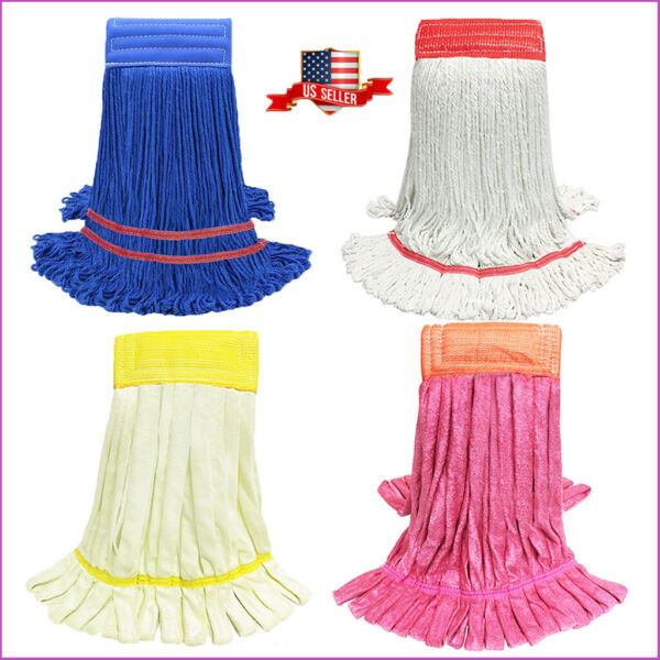 U-Clean Commercial Cleaning Mop Heads