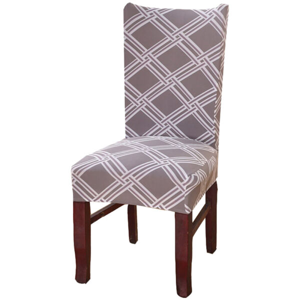 Removable Stretch Chair Covers Slipcovers Dining Room Stool Seat Cover Decor US $12.19