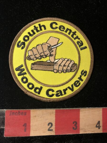 SOUTH CENTRAL WOOD CARVERS Wood Carving Patch Woodcarver 99J8 $7.99