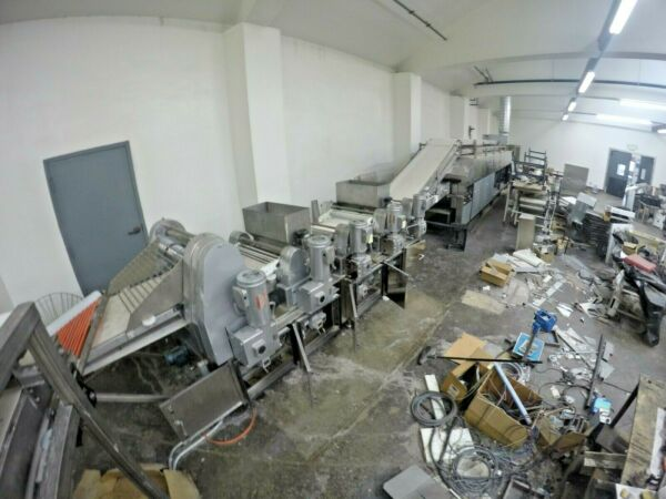 BAKERY EQUIPMENT  FULL CONVEYOR LINE FOR LAVASH AND OTHER BREADS  BIG MIXER
