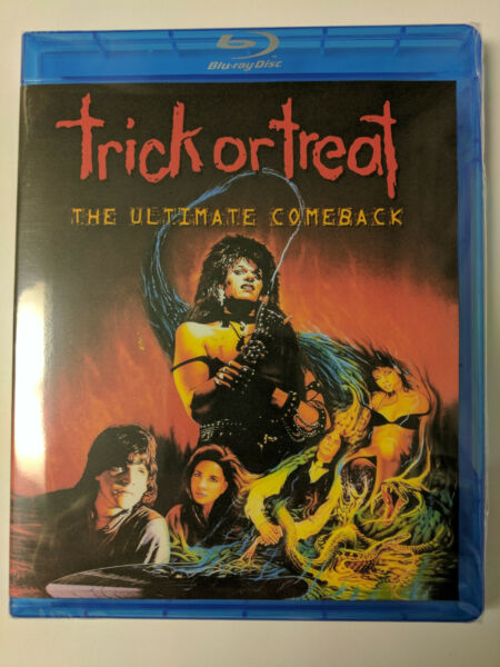Trick or Treat The Ultimate Comeback 1986 BluRay Ozzy Osbourne Gene Simmons Rare