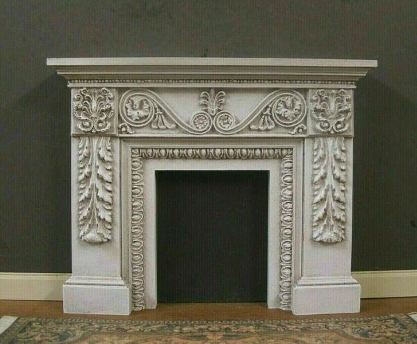 FIREPLACE ~ 1:12 scale ~HANDCRAFTED ~ Distressed ~ Dollhouse Miniature~ Room Box