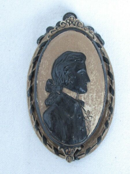 Antique George Washington Cast Iron Door Knocker