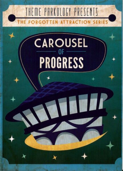 Disneyland Carousel of Progress DVD Documentary DVD