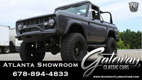 1970 Ford Bronco 4WD Dark Gray Truck 350 cid V-8 3 speed                 Automatic Available Now!