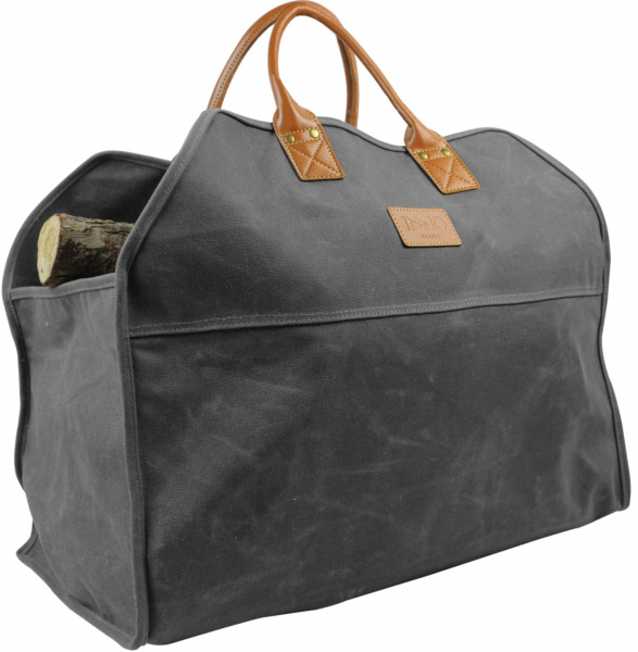 INNO STAGE Waxed Canvas Firewood Log Carrier Extra Large Storage Tote Bag
