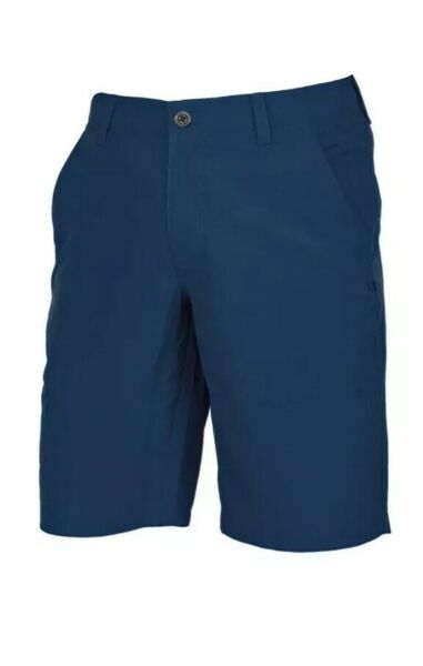 UNDER ARMOUR GOLF MATCH PLAY VENTED CHAMBRAY SHORTS Academy Blue- NEW- Size 40