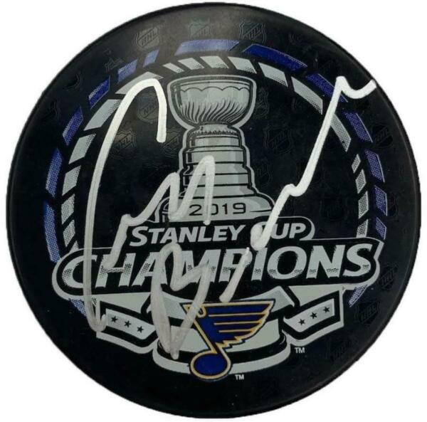 Craig Berube St Louis Blues Autographed Stanley Cup Champions Puck