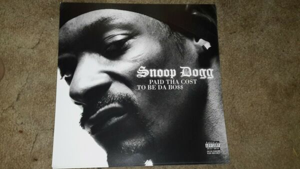 SNOOP DOGG PAID THA COST 1 POSTER FLAT 2 SIDED 12X12INCHES NMINT $12.50