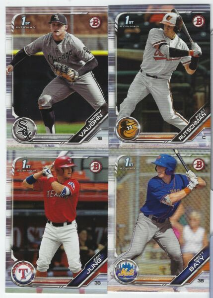 2019 Bowman Draft Paper Base Rookies RC #BD1-200 Complete Your Set - You Pick!