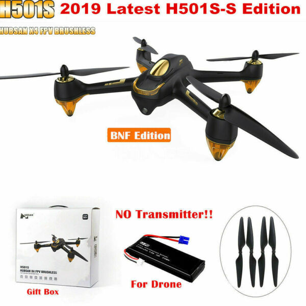Hubsan H501S Quadcopter 5.8G FPV Brushless 1080P Cam GPS Drone BNF,SS Edition