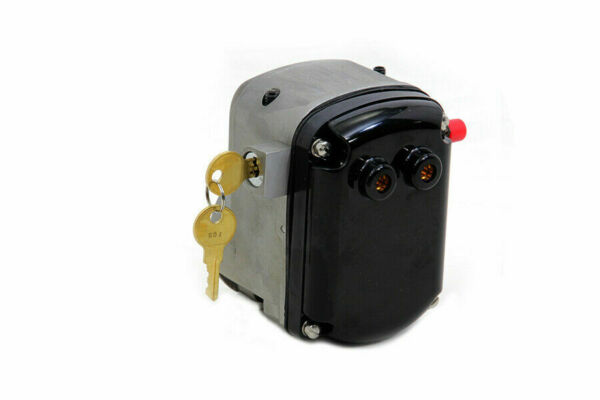 Complete Burkhardt Magneto Head with Key Lock for Harley Davidson by V Twin $522.00