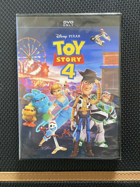 Toy Story 4 (DVD 2019) Brand NEW FREE FIRST CLASS SHIPPING DISNEY PIXAR