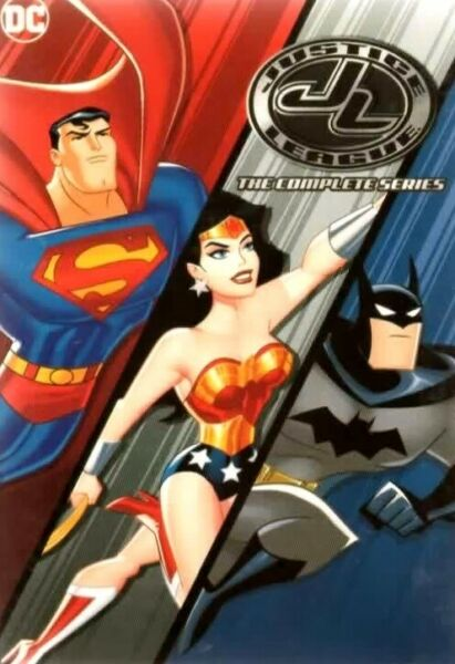 Justice League The Complete Series 10 DVD Box Set USA New Fast Free Shipping