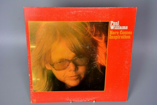 Vinyl Record LP Album: Paul Williams - Here Comes Inspiration