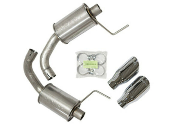 ROUSH PERFORMANCE PARTS Axle Back Exhaust Kit 15 16 Mustang GT P N 421834 $724.99
