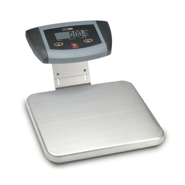 New Ohaus ES30R Low Profile Stainless Steel Bench Shipping Scale66 lbs 0.05 lbs