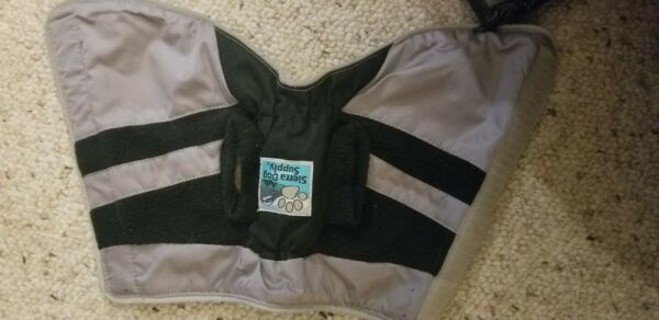 Sierra Dog Supply coat black and grey. Size 6New without tags $2.00
