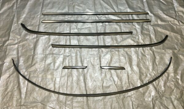 2007 2013 Mini Cooper R56 Hatchback Body Line Moulding Trim Set Chrome R2008 $149.99
