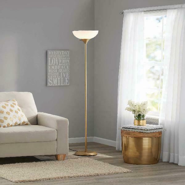Floor Lamp Living Room Light Stand Torchiere Home Decor Shade Reading Metal 71