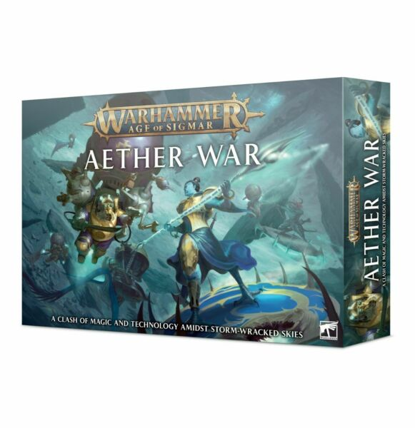 Warhammer Age of Sigmar: Aether War Disciples of Tzeentch vs Kharadron Overlords