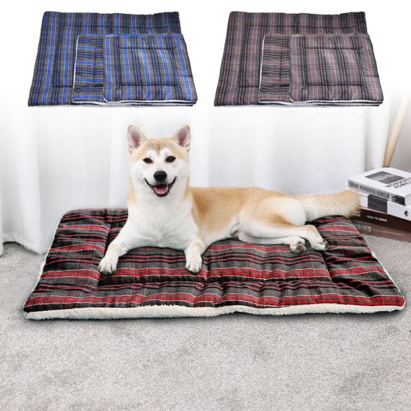 Dog Beds Extra Large Dogs Winter Warm Mattress Pet House Kennel Cushion Washable $19.99