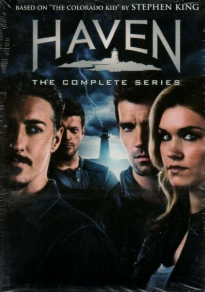 Haven: The Complete Series 24 DVD  Box Set New Free Shipping