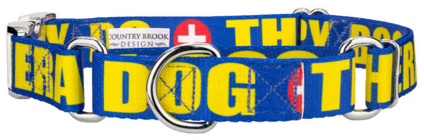 Country Brook Petz™ Therapy Dog Martingale with Premium Buckle $15.95