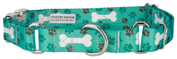 Country Brook Petz™ Oh My Dog Martingale with Premium Buckle $15.95
