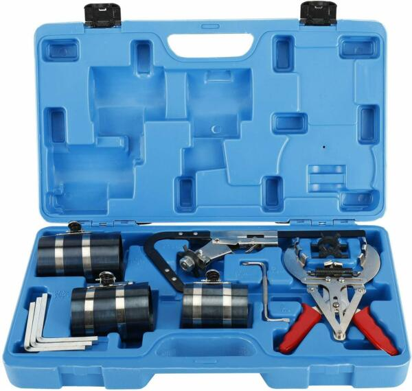 9pc Piston Ring Service Auto Tool Kit Engine Ratchet Cleaner Expander Compressor