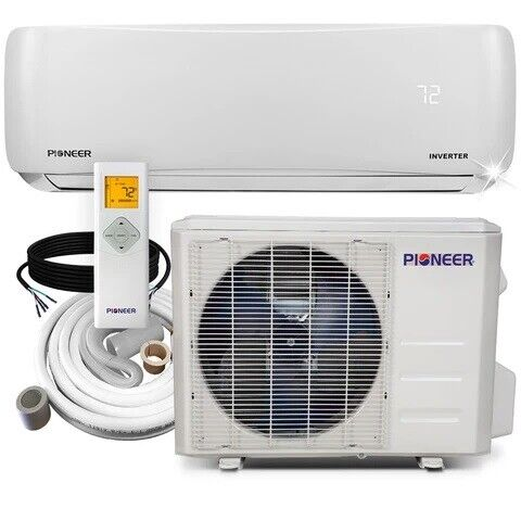 Pioneer® 12000 BTU 19 SEER 230V Ductless Mini Split Air Conditioner Heat Pump $738.00