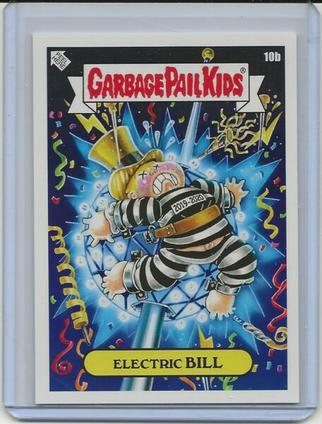 2019 GPK We Hate The Holidays ELECTRIC BILL 10B Garbage Pail Kids