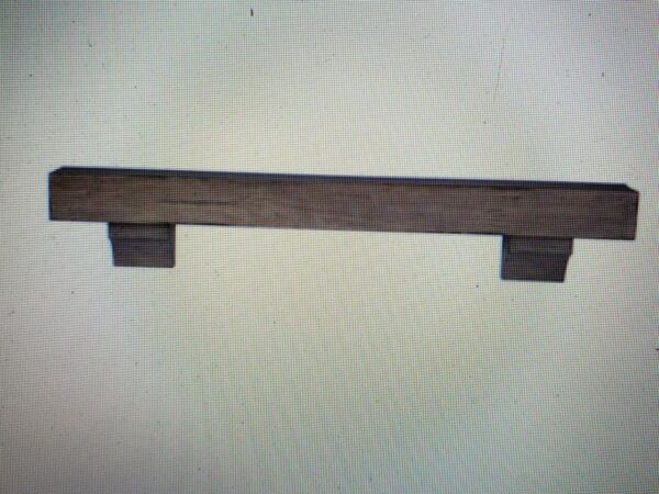 Pearl Mantels Shenandoah 5' Dune Rustic Distressed Cap-Shelf Mantel 412-60-10 *