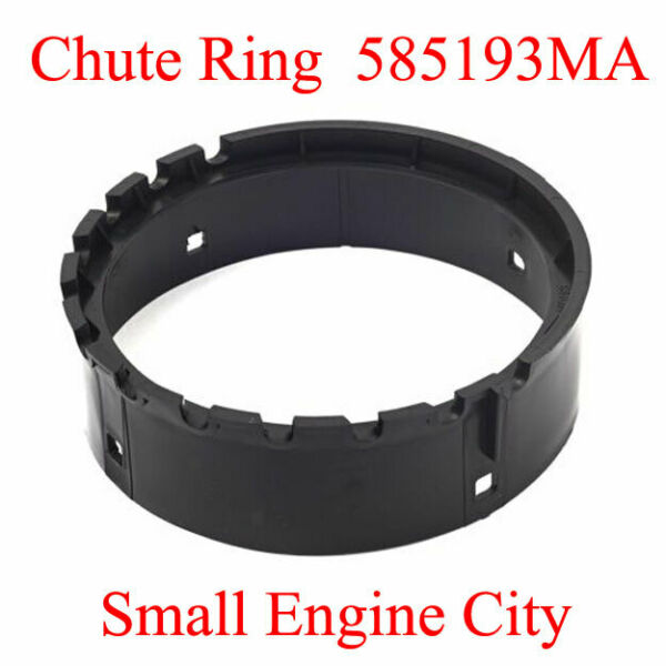585193MA MURRAY Sears Craftsman Snow Blower Plastic Outer Chute Retainer Ring