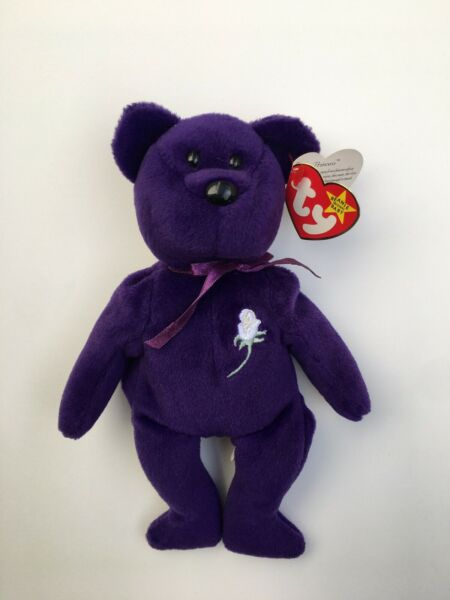 Princess Diana 1997 ty Beanie Baby Original Vintage Collection