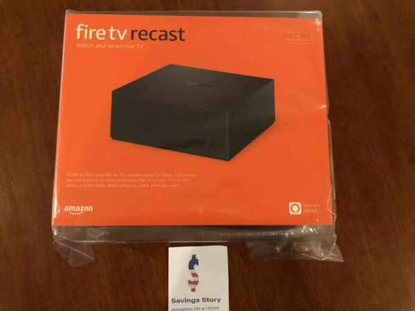 Amazon Fire TV Recast over-the-air DVR 1 TB 150 hours 4 tuners Alexa New