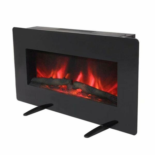 36 Inch Digital flame Electric Fireplace Wall Hanging Freestanding Electric Fire