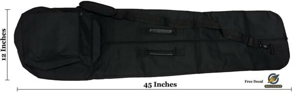 All-Purpose Metal Detector Carrying Case with Exterior Pocket 45inch by 12 inch