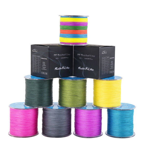 300M Super Strong PE Braided Fishing Line 8LB-80LB Various Color
