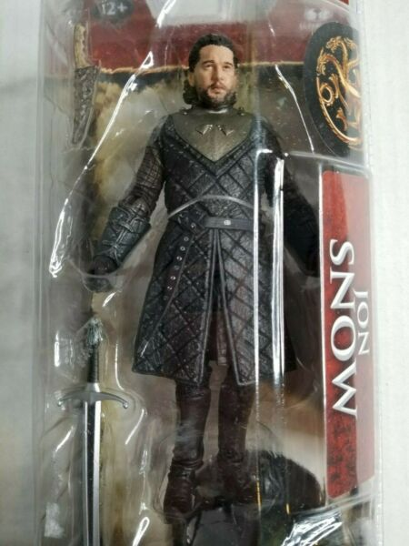 Game of Thrones John Snow 6quot; Action Figure McFarlane Toys Brand New Sealed