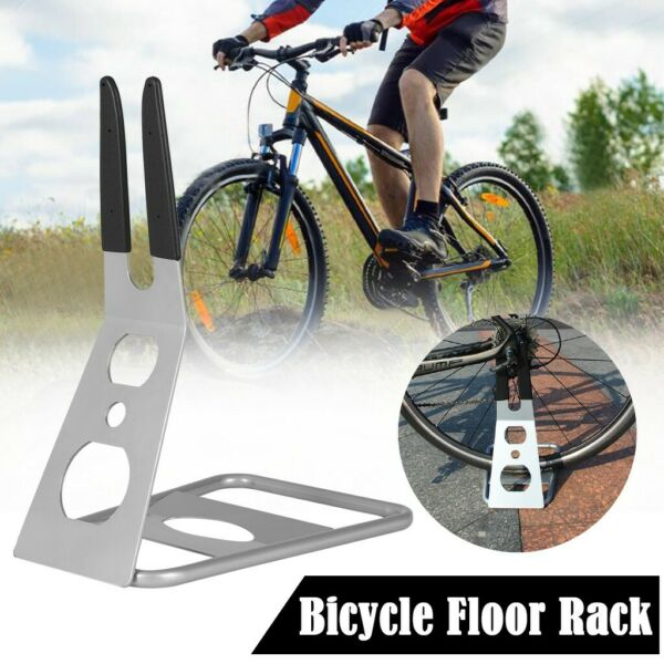 Bicycle Bike Parking Cycle Floor Rack Stand Storage Display Mount Steel Holder U $26.37