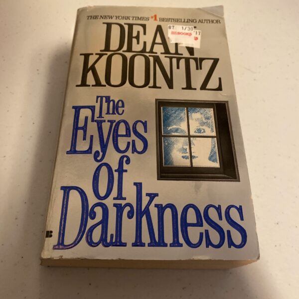 The Eyes of Darkness by Dean Koontz 1996 Paperback Berkley Edition Free Shipping